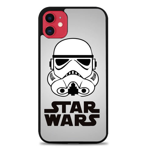 Custodia Cover iphone 11 pro max Star Wars Stormtrooper vector Z2818 Case