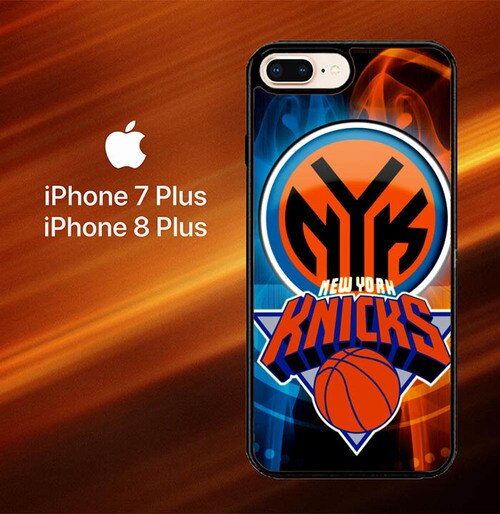 Custodia Cover iphone 7 plus 8 plus New York Knicks Z3031 Case