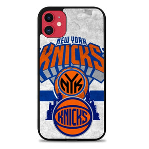 Custodia Cover iphone 11 pro max New York Knicks logo Z3032 Case