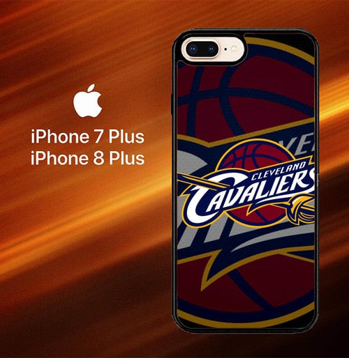 Custodia Cover iphone 7 plus 8 plus Cleveland Cavaliers Z3036 Case