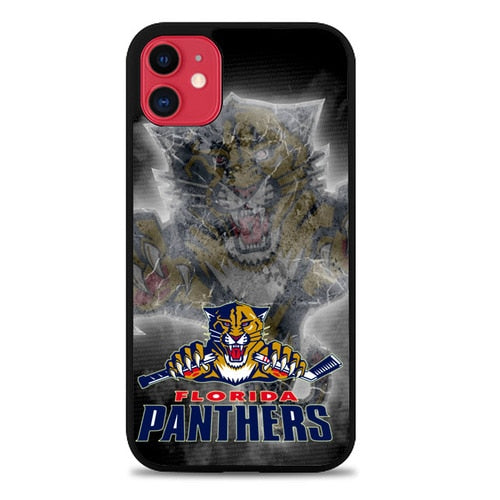 Custodia Cover iphone 11 pro max Florida Panthers Z3167 Case