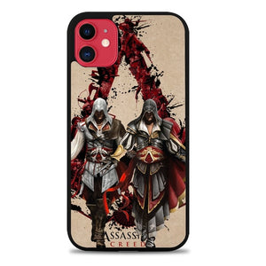 Custodia Cover iphone 11 pro max Assassin Creed Saga Poster Z3253 Case