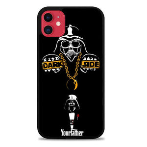 Custodia Cover iphone 11 pro max Star Wars Darth Vader Fun Z3333 Case