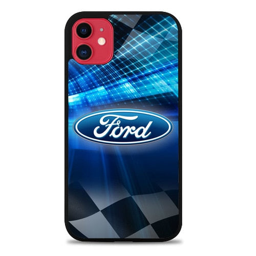 Custodia Cover iphone 11 pro max ford cars logo Z3351 Case
