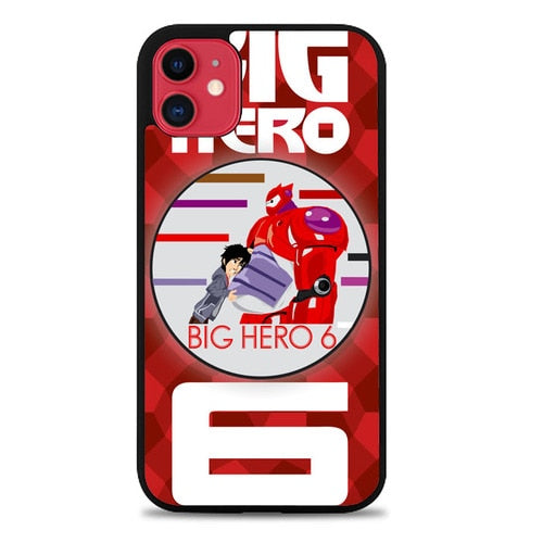 Custodia Cover iphone 11 pro max big hero 6 baymax vector Z3456 Case