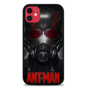 Custodia Cover iphone 11 pro max Ant Man Mask Movie Z3473 Case