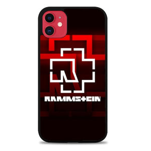 Custodia Cover iphone 11 pro max Rammstein Band Logo Z3537 Case