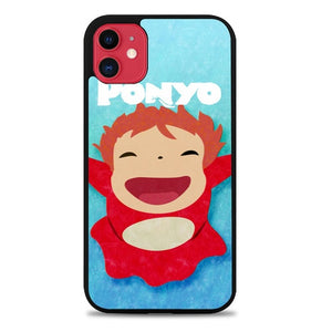 Custodia Cover iphone 11 pro max Ponyo Small Z3542 Case