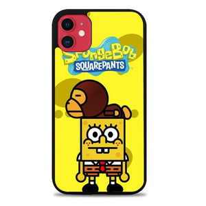 Custodia Cover iphone 11 pro max Baby Milo Spongebob Z3560 Case