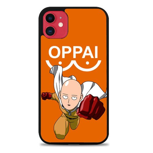 Custodia Cover iphone 11 pro max one punch man saitama Z3589 Case