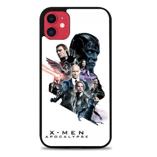 Custodia Cover iphone 11 pro max x-men apocalypse Z3631 Case