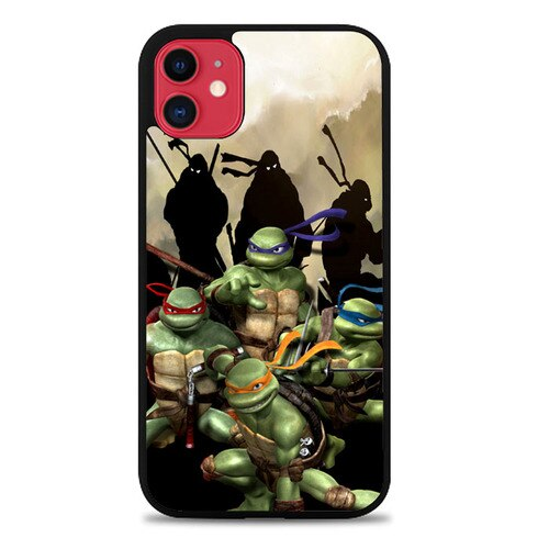 Custodia Cover iphone 11 pro max teenage mutant ninja turtles Z3671 Case