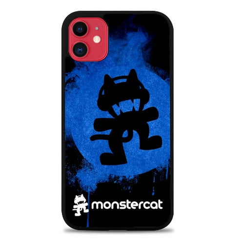 Custodia Cover iphone 11 pro max Monstercat digitized Z3695 Case