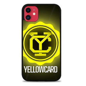 Custodia Cover iphone 11 pro max yellowcard logo Z3723 Case