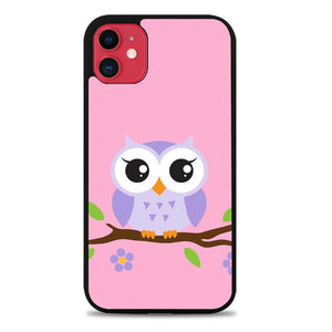 Custodia Cover iphone 11 pro max Owl Cute Z3814 Case