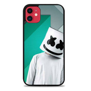 Custodia Cover iphone 11 pro max marshmello Z3866 Case