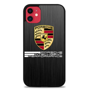 Custodia Cover iphone 11 pro max porsche intelligent performance logo Z3871 Case