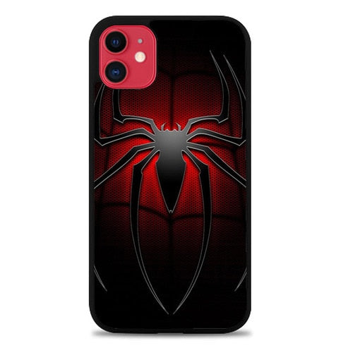 Custodia Cover iphone 11 pro max Spiderman Logo Z3686 Case