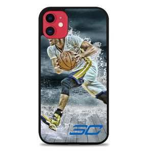 Custodia Cover iphone 11 pro max stephen curry water art Z3892 Case