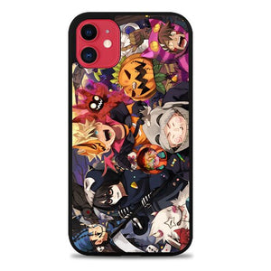 Custodia Cover iphone 11 pro max naruto halloween chibi Z3945 Case