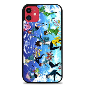 Custodia Cover iphone 11 pro max digimon adventure tri Z4045 Case