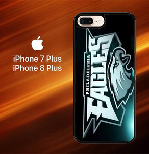 Custodia Cover iphone 7 plus 8 plus Philadelphia Eagles Logo Z4254 Case