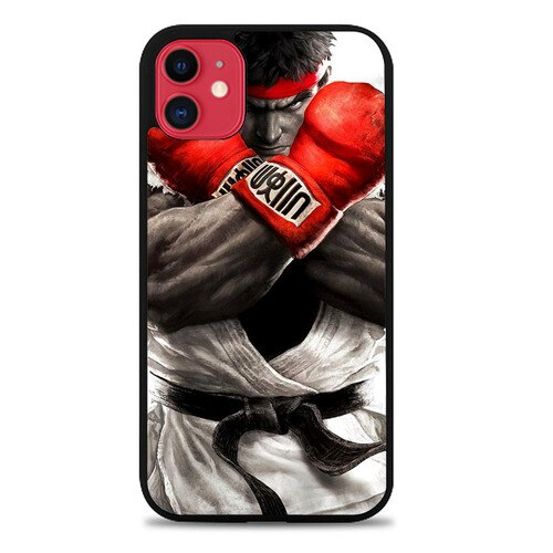 Custodia Cover iphone 11 pro max Street Fighter V Ryu Z4370 Case