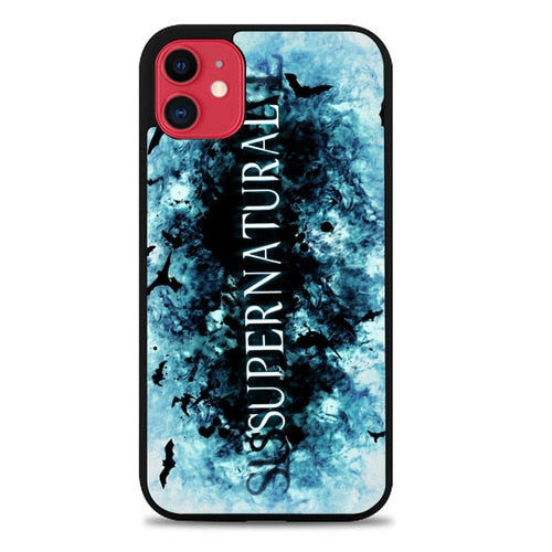 Custodia Cover iphone 11 pro max supernatural logo Z4384 Case