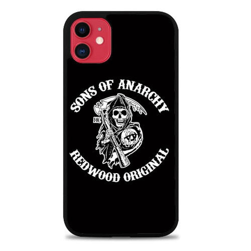 Custodia Cover iphone 11 pro max sons of anarchy redwood Z4388 Case