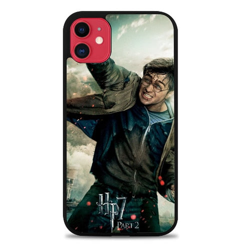 Custodia Cover iphone 11 pro max harry potter and the deathly hallows 2 Z4392 Case