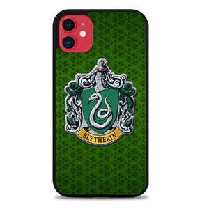 Custodia Cover iphone 11 pro max harry potter logo slytherin Z4397 Case