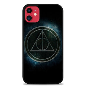 Custodia Cover iphone 11 pro max Harry Potter Deathly Hallows Z4401 Case