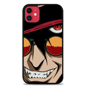 Custodia Cover iphone 11 pro max hellsing anime face Z4415 Case