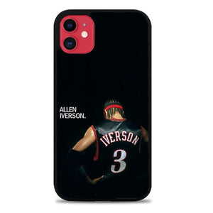 Custodia Cover iphone 11 pro max Allen Iverson Black Z4481 Case