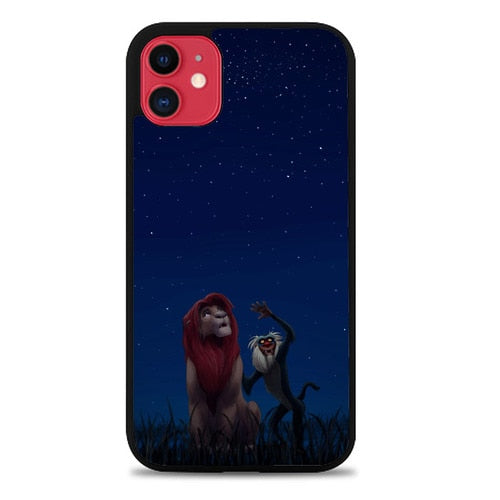 Custodia Cover iphone 11 pro max Lion King Stars Z4488 Case