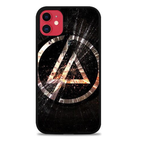 Custodia Cover iphone 11 pro max Linkin Park logo Z4490 Case