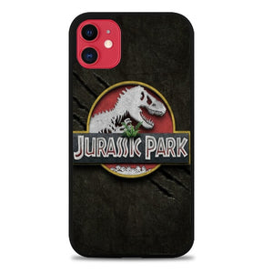 Custodia Cover iphone 11 pro max jurassic park logo Z4493 Case