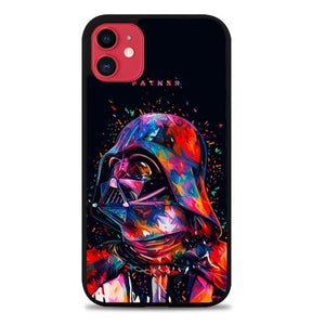 Custodia Cover iphone 11 pro max star wars darth vader Z4496 Case
