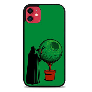 Custodia Cover iphone 11 pro max Funny Star Wars darth vader Z4504 Case