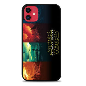 Custodia Cover iphone 11 pro max Star Wars The Force Awakens Z4520 Case