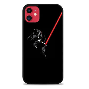 Custodia Cover iphone 11 pro max Darth Vader Smoke Z4524 Case
