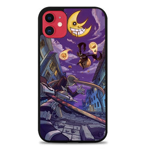 Custodia Cover iphone 11 pro max Soul Eater Blair And Maka Z4578 Case