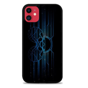 Custodia Cover iphone 11 pro max deadmau5 Logo Glow Z4585 Case