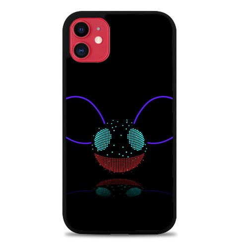 Custodia Cover iphone 11 pro max deadmau5 logo Z4586 Case