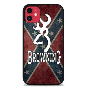 Custodia Cover iphone 11 pro max Browning Camo logo Z4608 Case