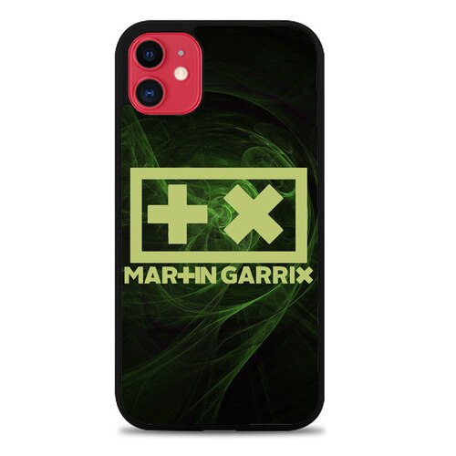 Custodia Cover iphone 11 pro max martin garrix logo Z4618 Case