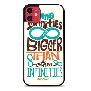 Custodia Cover iphone 11 pro max The Fault in Our Stars Quote Infinity Z4687 Case