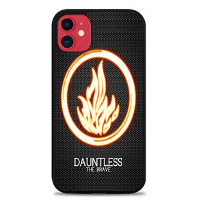 Custodia Cover iphone 11 pro max divergent dauntless the brave Z4710 Case