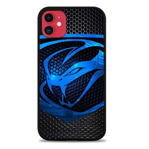 Custodia Cover iphone 11 pro max dodge viper logo Carbon Z4757 Case