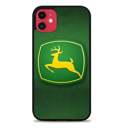 Custodia Cover iphone 11 pro max John deere Z4789 Case